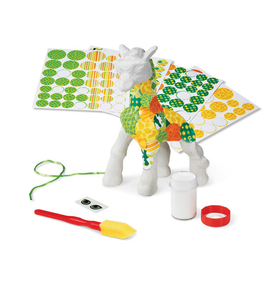 Melissa and Doug Decoupage Made Easy Craft Set - Giraffe