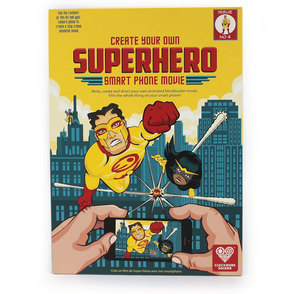 CREATE YOUR OWN SUPERHERO SMART PHONE MOVIE