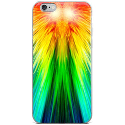 Rainbow Streak iPhone Case