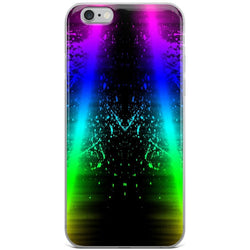 Neon Colorful splash iPhone Case