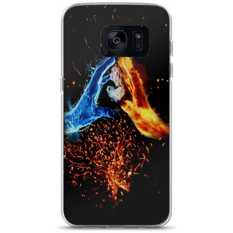 Water and Fire Samsung Case