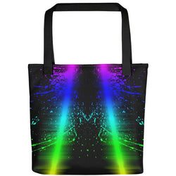 Neon Color Splash Tote bag