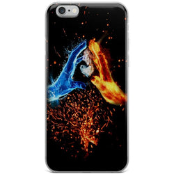 Water and Fire iPhone Case