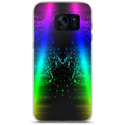 Neon Colorful Splash Samsung Case