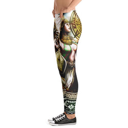 Aztec Green Leggings