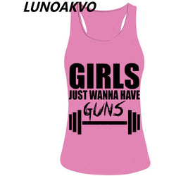 girls just wanna have fitness tank top