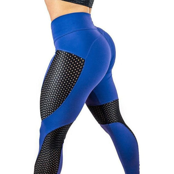 High Waist Elastic Workout Leggings