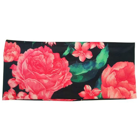 Floral Stretch Womens Headband