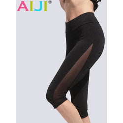 Yoga  Mesh Compression Capris