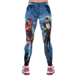 Corpse Bride Fitness Leggings