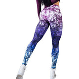 Gothic Print Sexy Sports Leggings