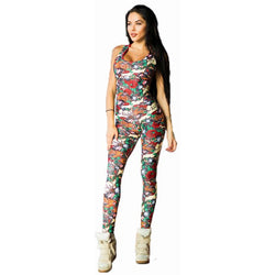 Tattoo Fitness Jumpsuit