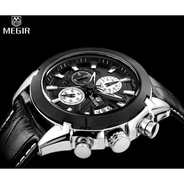MEGIR Chronograph Casual Watch Men