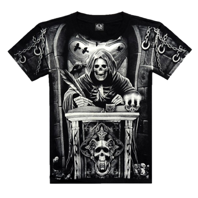 THE GRIM REAPER T-Shirt - 4 Designs