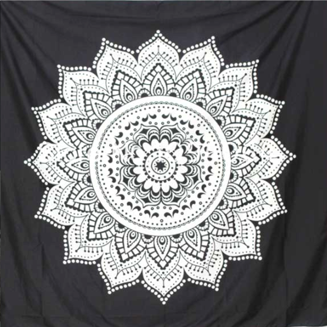 ABSTRACT LOTUS Tapestry - 4 Designs