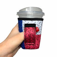 Load image into Gallery viewer, Texas Flag 12oz Small/Tall Coffee Handler