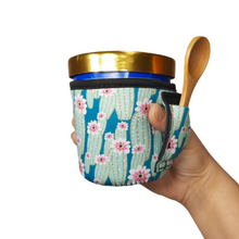 Load image into Gallery viewer, Green Cactus Pint Size Ice Cream Handler