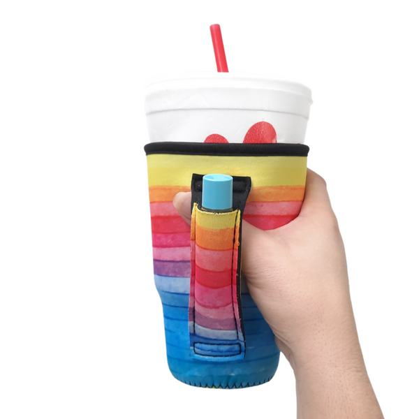 Rainbow 20-27oz Venti / Large Tea / 27oz Shaker Bottle / 20oz Tumbler Handler™