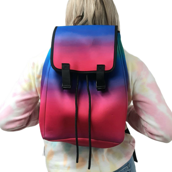 Pink Ombre Backpack
