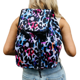 Watercolor Leopard Backpack