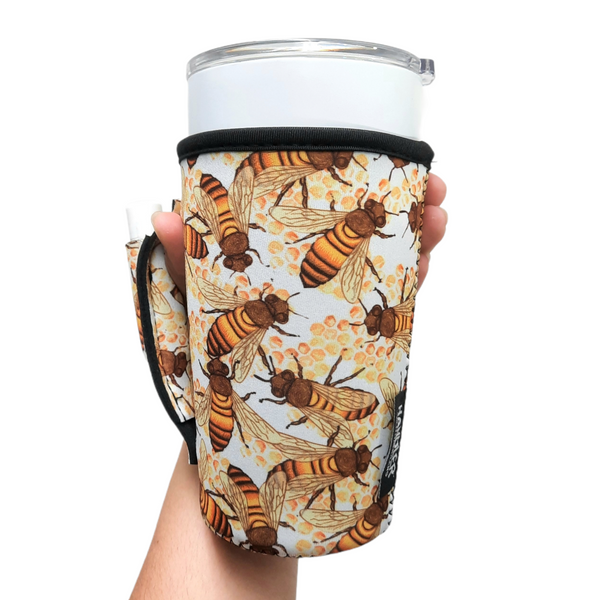 Bee 20-27oz Venti / Large Tea / 27oz Shaker Bottle / 20oz Tumbler Handler™
