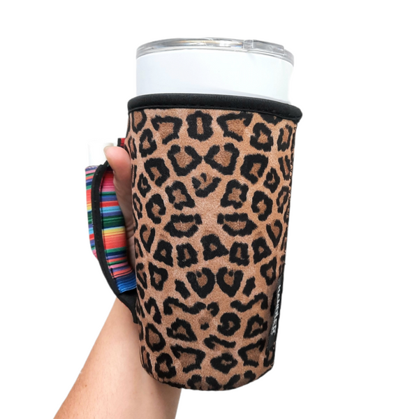 Leopard w/ Serape 20-27oz Venti / Large Tea / 27oz Shaker Bottle / 20oz Tumbler Handler™