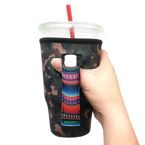Camo w/ Serape 20-27oz Venti / Large Tea / 27oz Shaker Bottle / 20oz Tumbler Handler™