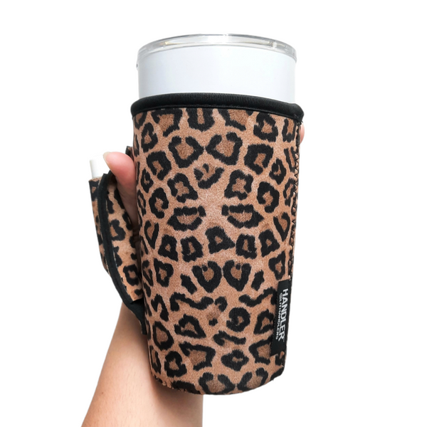 Leopard 20-27oz Venti / Large Tea / 27oz Shaker Bottle / 20oz Tumbler Handler™