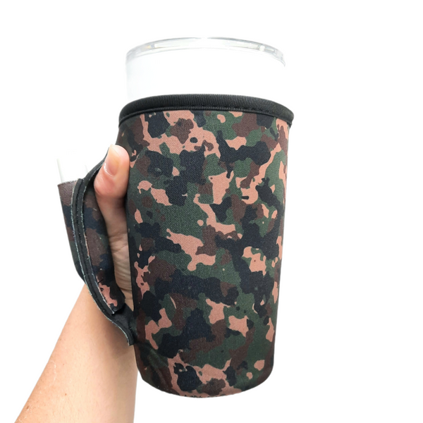 Camo 20-27oz Venti / Large Tea / 27oz Shaker Bottle / 20oz Tumbler Handler™