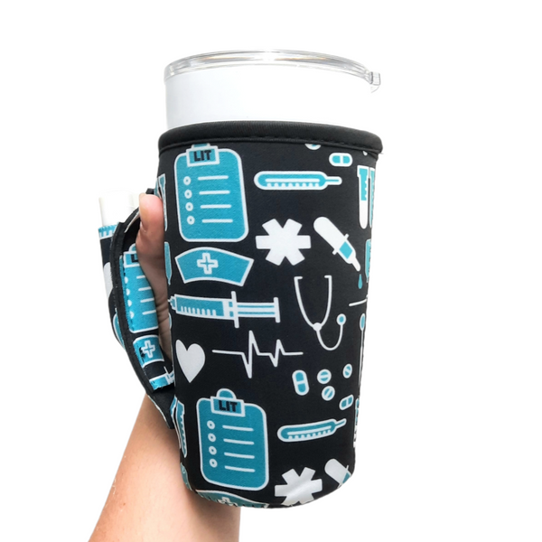 Nurse 20-27oz Venti / Large Tea / 27oz Shaker Bottle / 20oz Tumbler Handler™