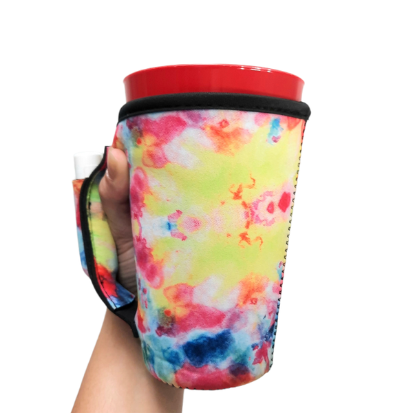 Tie Dye 16oz Pint Glass / Tumbler / Tea / Grande Coffee / Medium Drinks Handler™