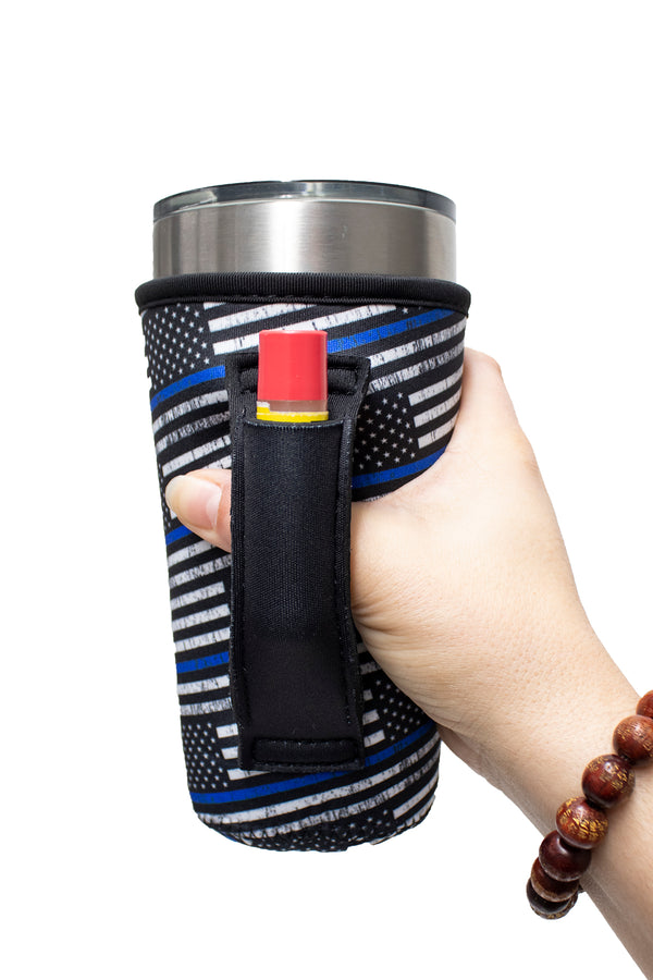 Back The Blue 20-27oz Venti / Large Tea / 27oz Shaker Bottle / 20oz Tumbler Handler™