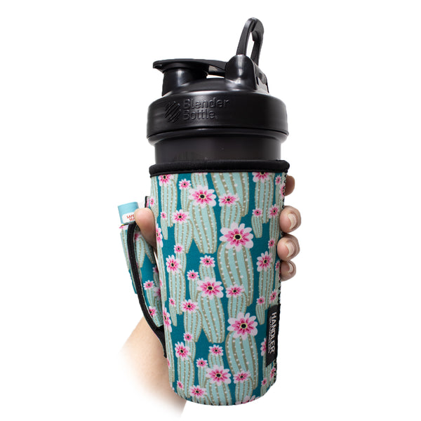 Green Cactus 20-27oz Venti / Large Tea / 27oz Shaker Bottle / 20oz Tumbler Handler™