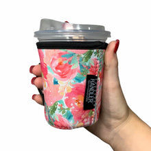 Load image into Gallery viewer, Summer Blooms 12oz Small/Tall Coffee Handler