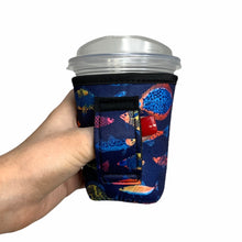 Load image into Gallery viewer, Neon fish 12oz Small/Tall Coffee Handler™