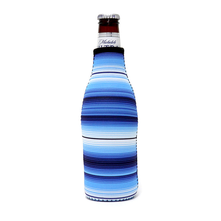 Blue Serape Bottleneck Cooler