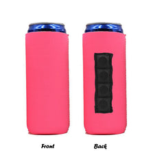 Load image into Gallery viewer, Solid Color Magnetic 12oz Slim Can Cooler