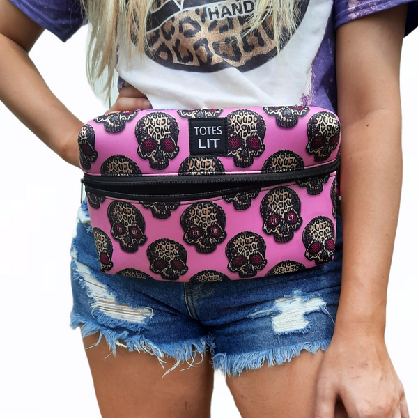 Leopard Sugars Fanny Packin' Tote