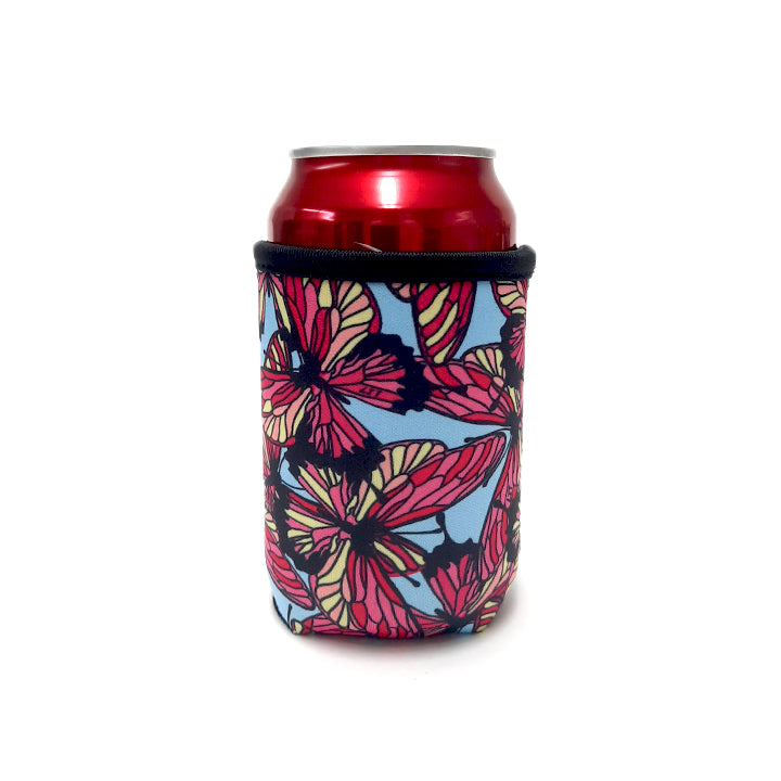 Butterfly 12oz Stubby Can Cooler