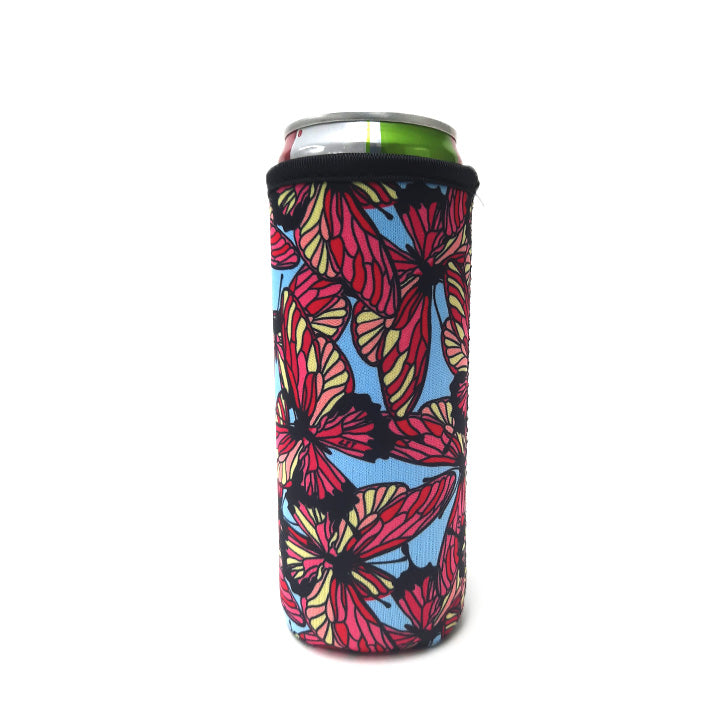 Butterfly 12 OZ Slim can cooler
