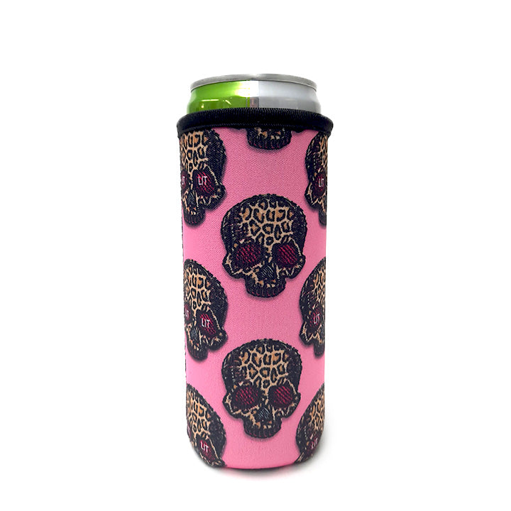 Leopard Sugars 12 OZ Slim can cooler