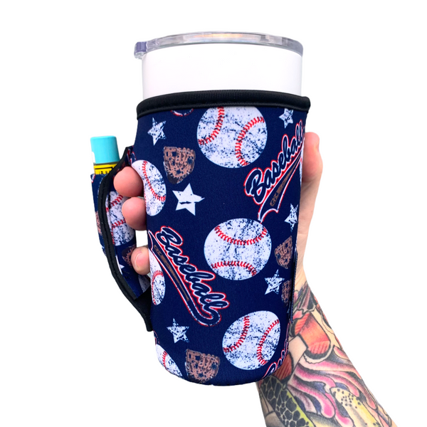 Baseball 20-27oz Venti / Large Tea / 27oz Shaker Bottle / 20oz Tumbler Handler™