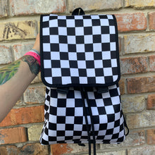 Load image into Gallery viewer, Checkerboard Backpack