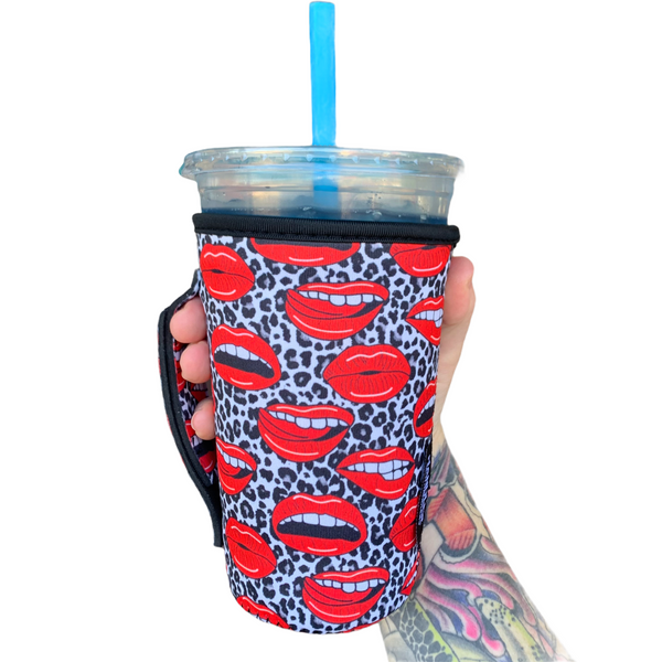 Leopard Lips 20-27oz Venti / Large Tea / 27oz Shaker Bottle / 20oz Tumbler Handler™