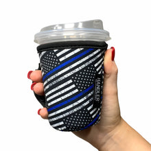 Load image into Gallery viewer, Back The Blue 12oz Small/Tall Coffee Handler