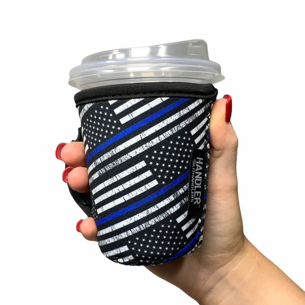 Back The Blue 12oz Small/Tall Coffee Handler
