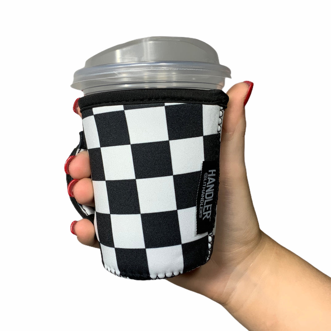 Checkerboard 12oz Small/Tall Coffee Handler