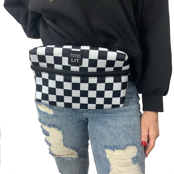 Checkerboard Fanny Packin' Tote