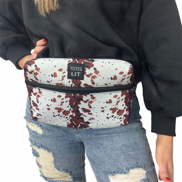 Cowhide Fanny Packin' Tote