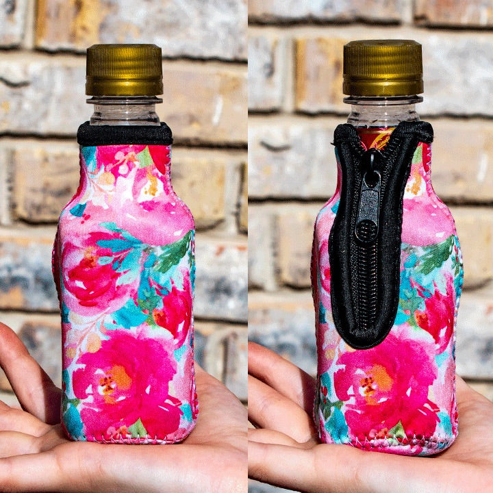Summer Blooms Mini Bottleneck Cooler